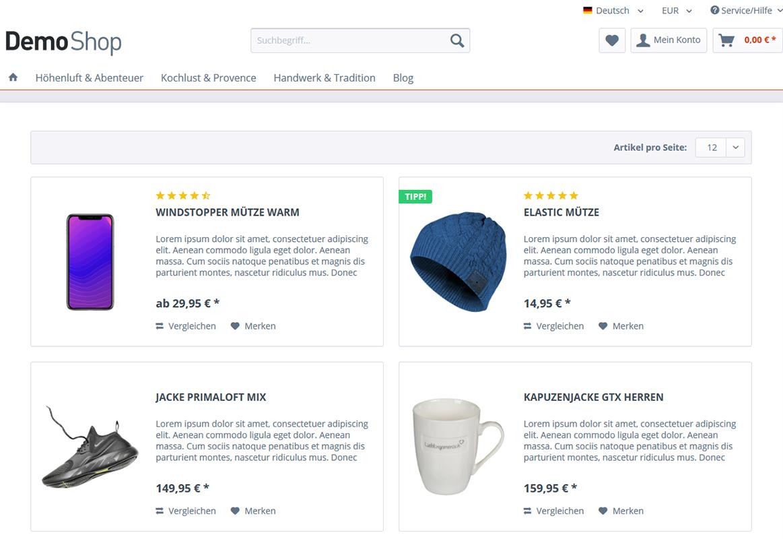 Individualisieren der Herstellerseiten (inklusive Einkaufswelten, Sidebar und uvm. ausblenden)
